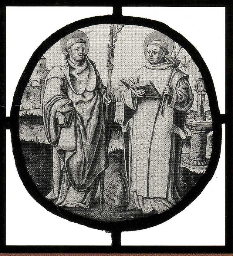 Bruno en een heilige bisschop 16e eeuw cartusiana for Bruno heilig